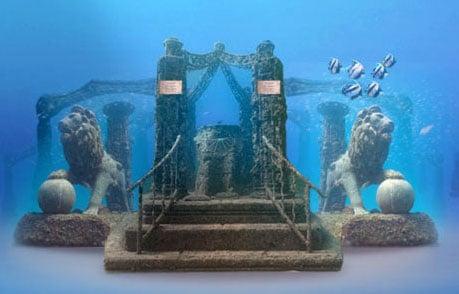 Neptune Memorial Reef Placement 2012
