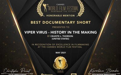 Cannes World Film Festival – Honorable Mention