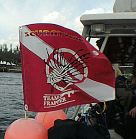Team Frapper Lionfish Hunt on Scubatyme